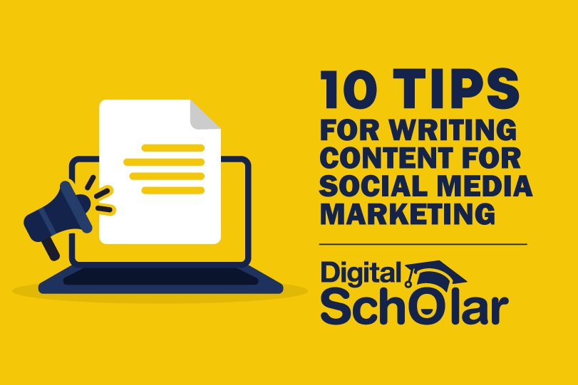 10 Content Writing Tips For Social Media Marketing
