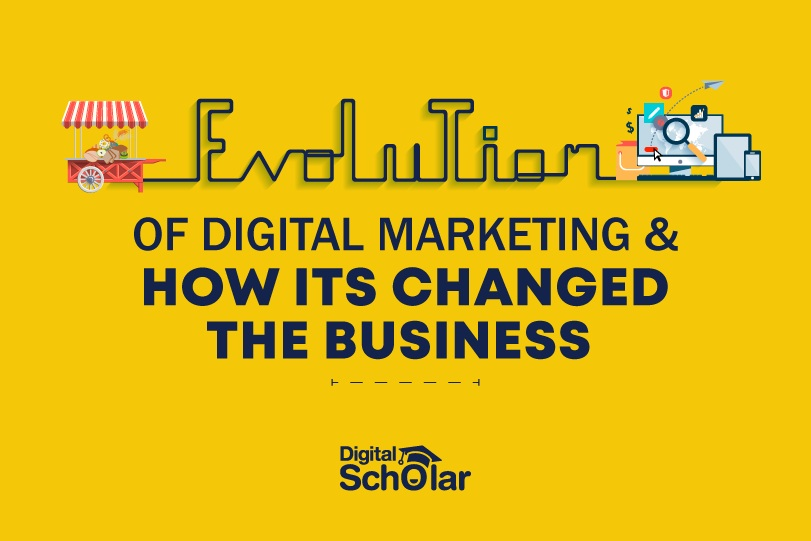 Evolution of Digital Marketing And How It Has Changed The Business