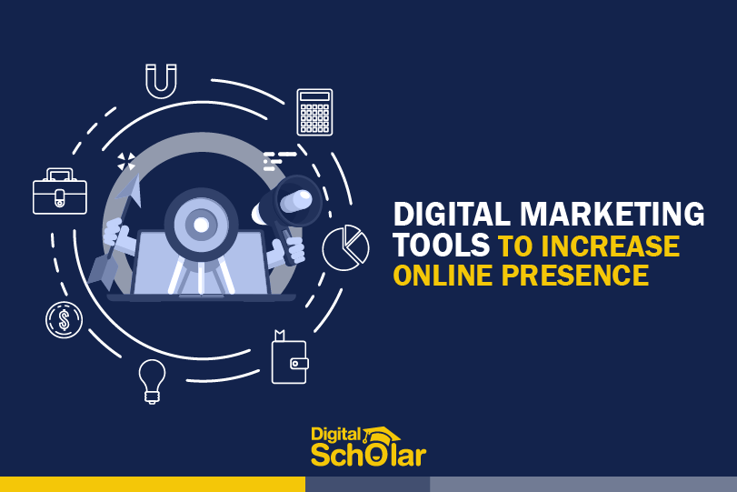 digital marketing tools to increase online presence