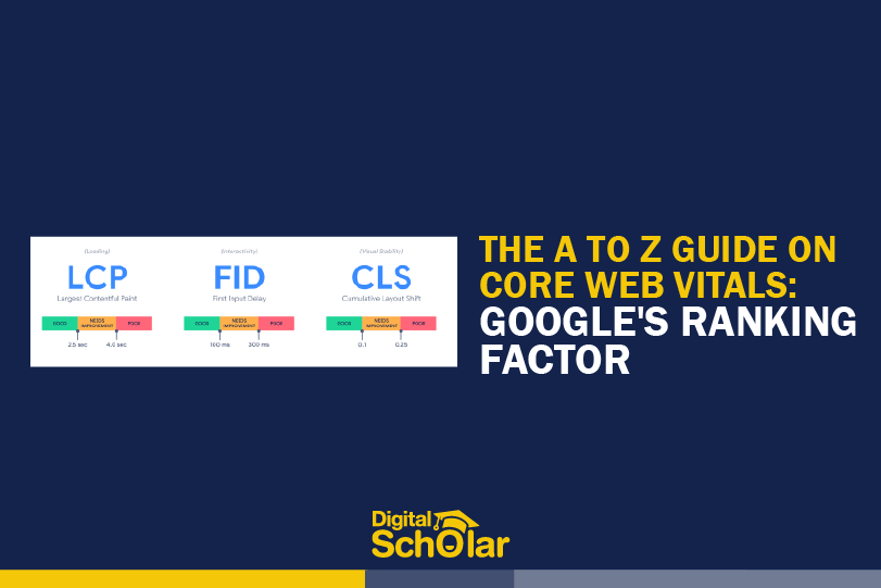a to z guide on core web vitals googles ranking factor