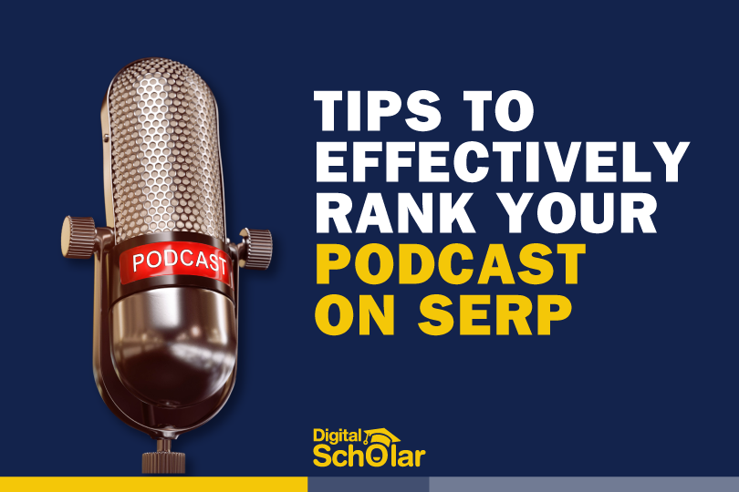 rank your podcast on serp