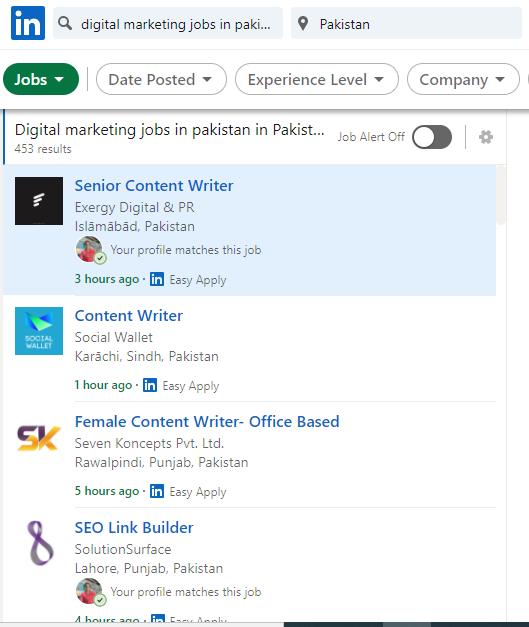 Demand for Digital Marketing Jobs in Pakistan